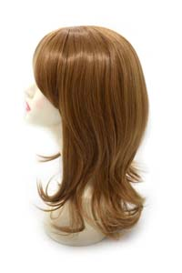 Synthetic wig pictures with color 27B