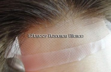Partial Hair Prosthesis for Male in Stock Swiss Lace (European Hair)