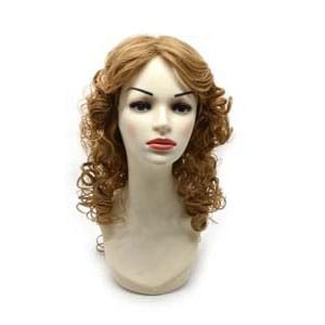 Synthetic wig pictures with hair color LHC-157,27-613C