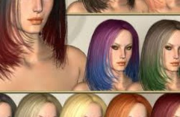 existing types of hair