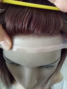 total hair replacement system synthetic fiber