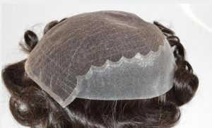 PROSTHESIS LACE HAIR WITH HORSESHOE IN PU.