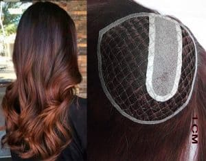 Microline with injected lace